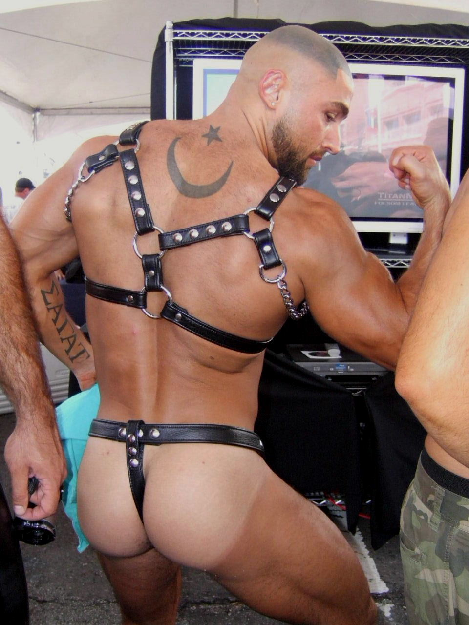 from Jagger leather gay men porn