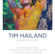 "Arthur Roger Gallery Tim Hailand Photography present "" SISTER I'M A POET "" #SisterImaPoet OCTOBER 1st 2016"