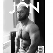 on the cover of jonmag.com issue #18 shot by Leigh Keily