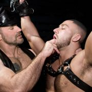 use me daddy – #BrendanDavis in #FolsomLeather by titanmen.com