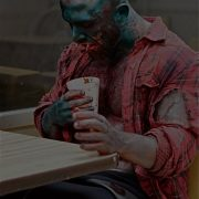 The Zombie of Bruce La Bruce. photographed by Arno Roca - L.A. Zombie