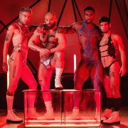 Tom Of Finland – Future Erotica – directed by Alter Sin and I on men.com  Mickey Taylor, DeAngelo Jackson, Ty Mitchell.