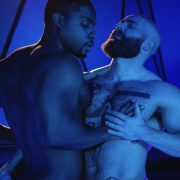 Men.com 's Tom Of Finland FUTURE EROTICA - may 8th - De Angelo Jackson - Mickey Taylor -Ty Mitchell -  directed by Alter Sin and I.